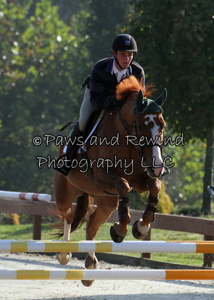 Grand Prix Ring:  Low Schooling Jumper (Friday)