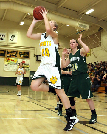 Paradise vs. Red Bluff 1/17/2014