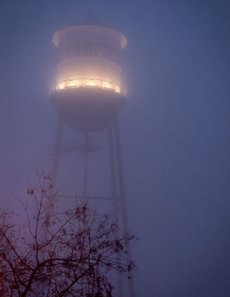 Water tower, Campbell, California, 2004
