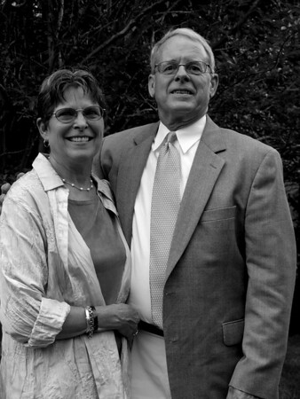 Reception_Lee and Pat_Black and White