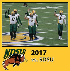 2017 Bison Football - SDSU