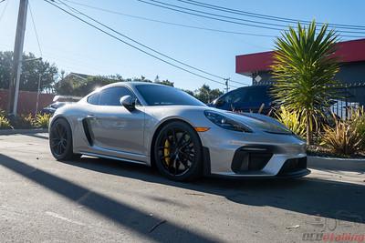 2021 Porsche GT4 / GT Silver