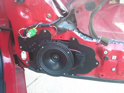 1993 Mazda RX7 Touring Front Door Speaker Installation - Canada