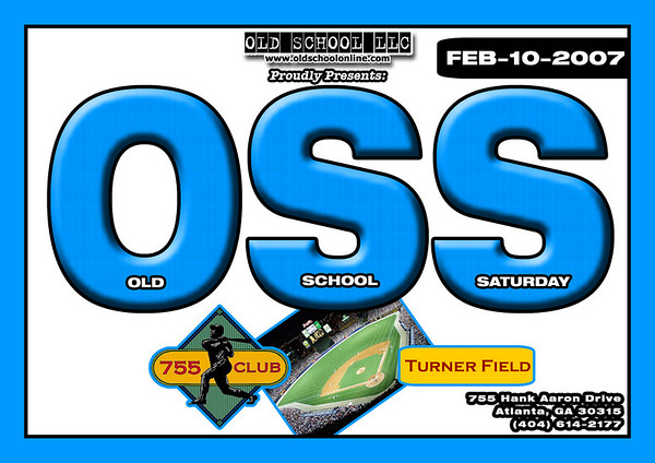 OSS @ 755 Club (Turner Field) ::: ATL, GA [Feb.10.2007]