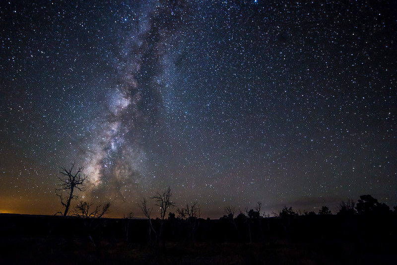 Stars over Mesa Verde