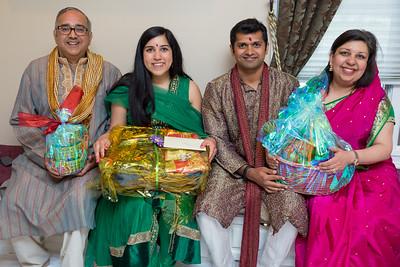 Priya & Samir Engagement Puja