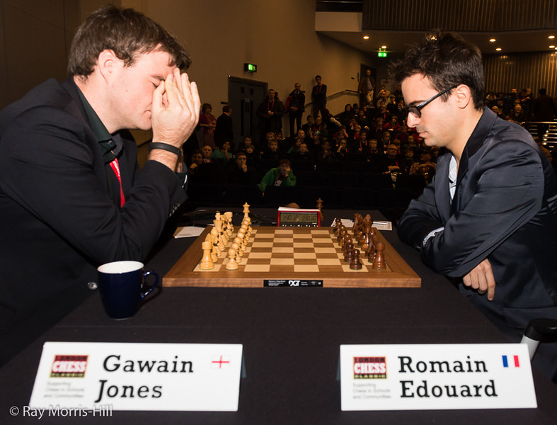 Gawain Jones vs Romain Edouard  - 1st Match game