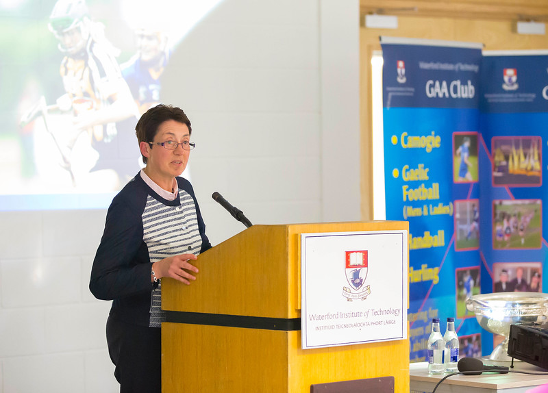 WIT holds event to honour 2016 All Ireland medal winning students. Pictured is Sheila O'Donohoe. Picture: Patrick Browne  Waterford Institute of Technology's presence and influence across Gaelic Games at a national level in 2016 has been very noticeable. In total there are 32 past and present WIT students on the respective playing panels that won All Ireland medals in 2016 and a further 4 members on the backroom management teams.   To honour this huge achievement, WIT GAA Club is paying tribute to these 36 past members on securing these prestigious national titles on Monday 3 October, 6.30pm at the WIT Arena.   Along with the players, the prestigious cups, including the All Ireland Senior Hurling Cup- Liam McCarthy, the All Ireland Senior Camogie Cup- O'Duffy, The All Ireland Minor Cup and the All Ireland Under 21 Hurling Cup- James Nowlan, will be on show on the night.