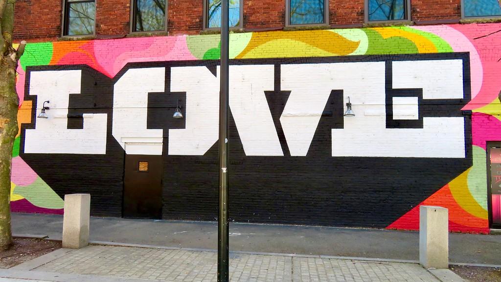 cey adams love mural street art lynn Massachusetts