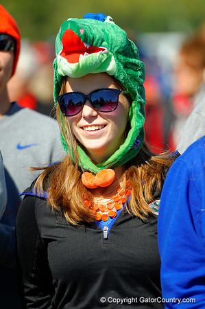 Gator Walk -  Gators vs Georgia Bulldogs  November 1st 2014