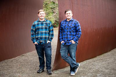Trevor and Tyler