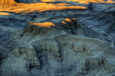 Moonscape overlook. Utah.