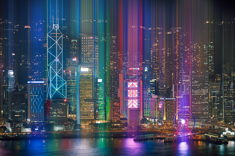 Streaming Light In Hong Kong