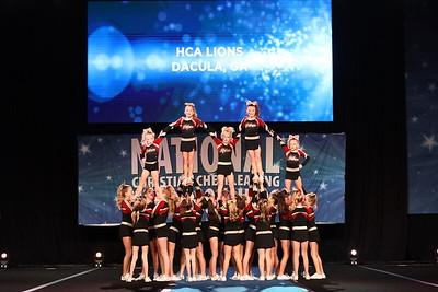13. HCA Lions Dacula GA Sapphire - Large Youth