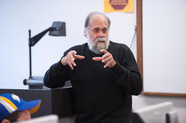 11/2/12 Victor Villanueva Talking With Students In Class