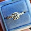 .81ct Old European Cut Diamond in Brian Gavin Setting 16