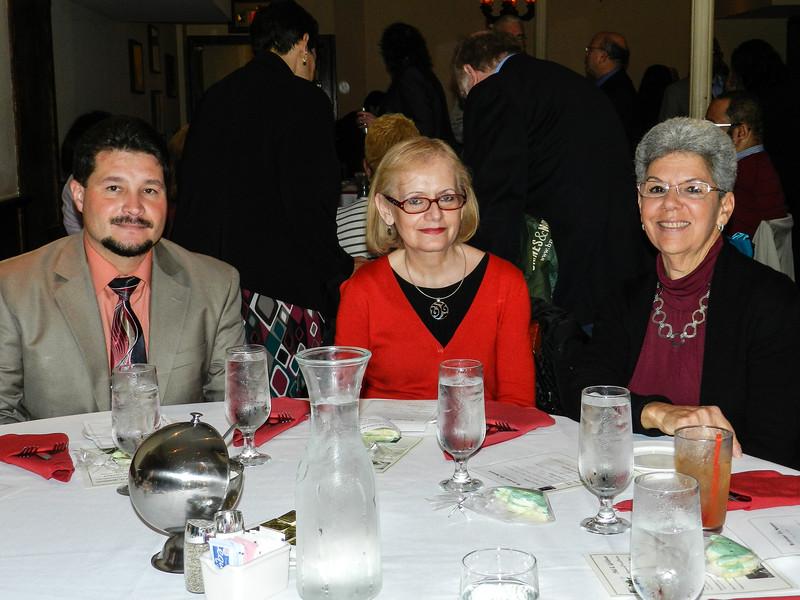 Edgar, Diane & Barbara