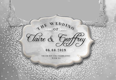 Claire & Geoffrey's Wedding!