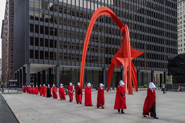 Ruth Bader Ginsburg Vigil in Chicago's Federal Plaza - 9/27/20