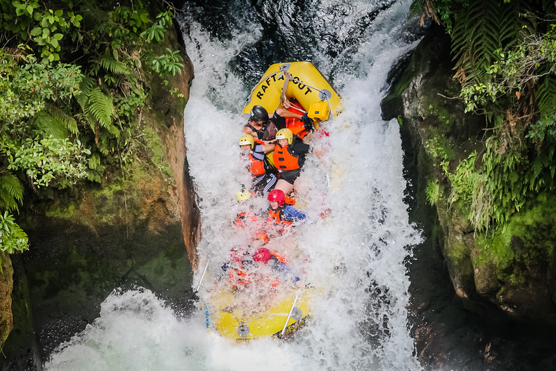Whitewater Rafting in New Zealand - best places to visit in September