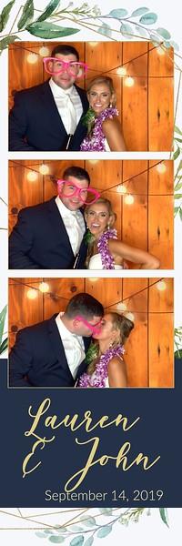 Lauren & John's Wedding September 14, 2019