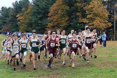 Mid-Wach A and B boys and girls HS cross country, November 1, 2018