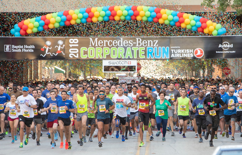 2018 Fort Lauderdale Mercedes-Benz Corporate Run presented by Turkish Airlines