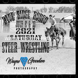 Saturday Night Steer Wrestling