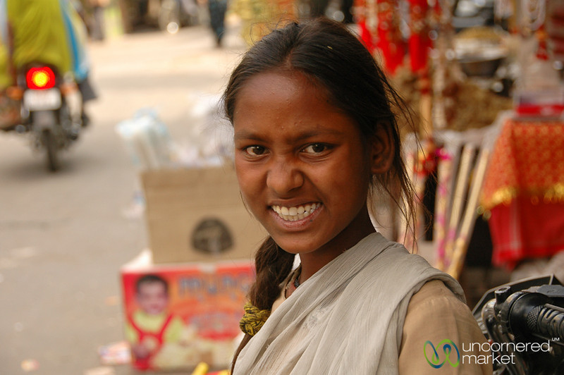 Excited to be Photographed - Udaipur, India