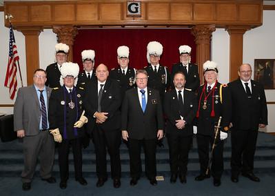 Columbus Commandery No 14 OOT Honoring WMGM Culmann 02-02-2019