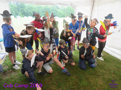 3rd Banstead and 1st Effingham Cub Camp 2019