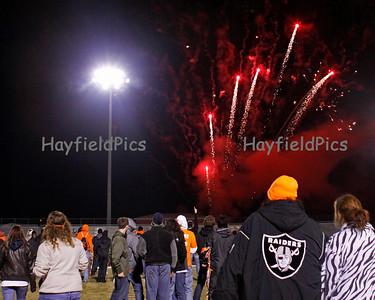 Bird Bowl Fireworks 11/5/10