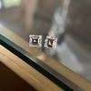 1.47ctw Carre Cut Diamond Pair GIA F VS2 6