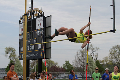 Cadillac News Meet Girls Pole Vault