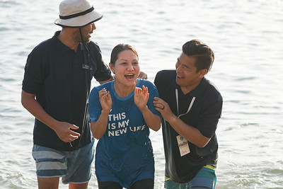 Beach Baptism at Corona Del Mar 07/25/19