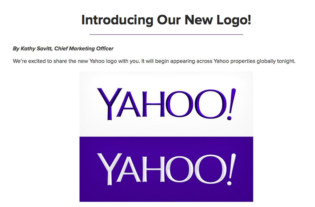 ". <p>5. YAHOO! <p>Millions checked out the search engine company�s new logo ... wait for the punch line ... by GOOGLING it. (unranked) <p><b><a href=\'http://www.twincities.com/business/ci_24020451/yahoo-unveils-new-logo\' target=""_blank\""> HUH?</a></b> <p>    (AP Photo/Yahoo Inc.)"
