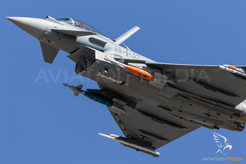 Germany Air Force / Eurofighter / 98+77