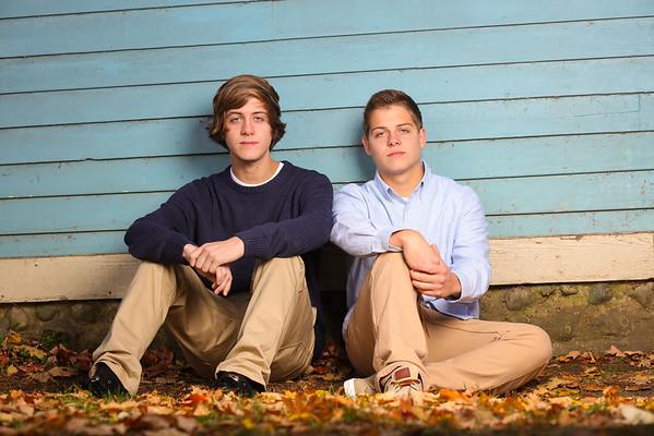 Jacob and Josh K. Graduate