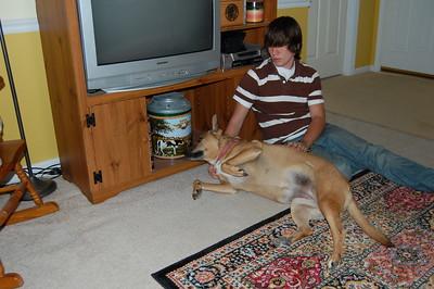 Dalton w/ Maggie - July 1, 2007