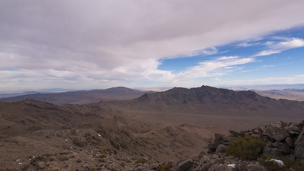 Ord Mountain in the Mojave Desert 11.27.13