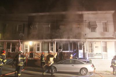 Row Home Fire, Coal Street, Tamaqua (9-18-2013)