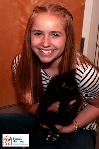Puppy and Kitten Shower Portraits