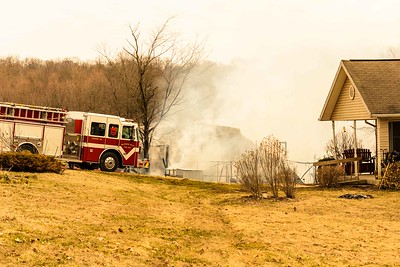 03-22-15 Walhonding Valley FD Barn Fire