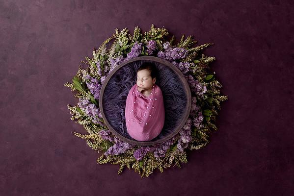 Newborn Alya Maria