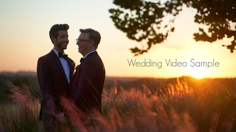 Wedding Video Sample with Andy & Michael