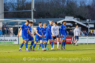 Eastleigh v Yate Town FA Trophy