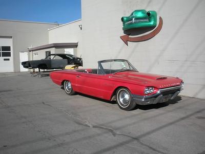 1964 Ford Thunderbird Convertible - Scott Adkins