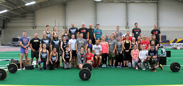Heat 4 (10:15) & Strongsville Crossfit with Rower