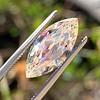 2.86ct Antique Marquise Cut Diamond, GIA N VS1 17
