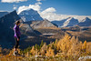 """Autumn at Healy Pass"" V, Banff National Park, Alberta, Canada."